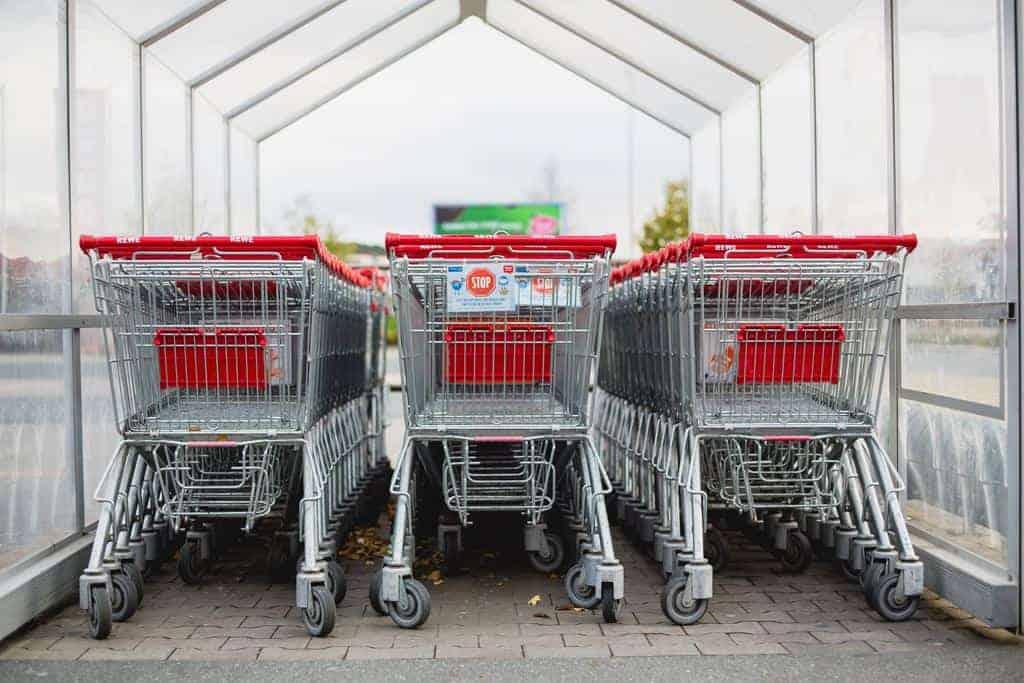 besparen supermarkt