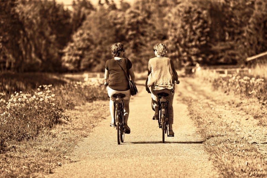 half uur beweging per dag fietsen