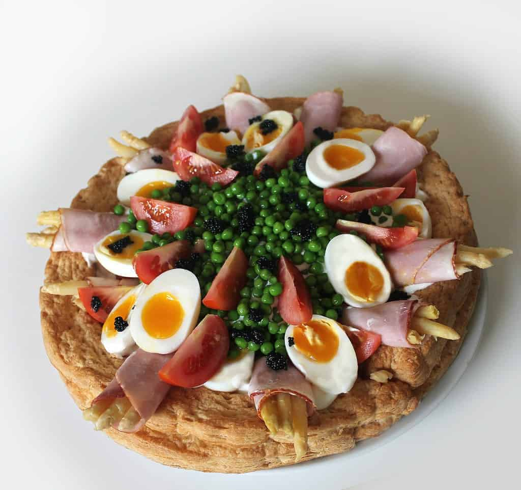 oud-Hollandse hapjes gevulde eieren