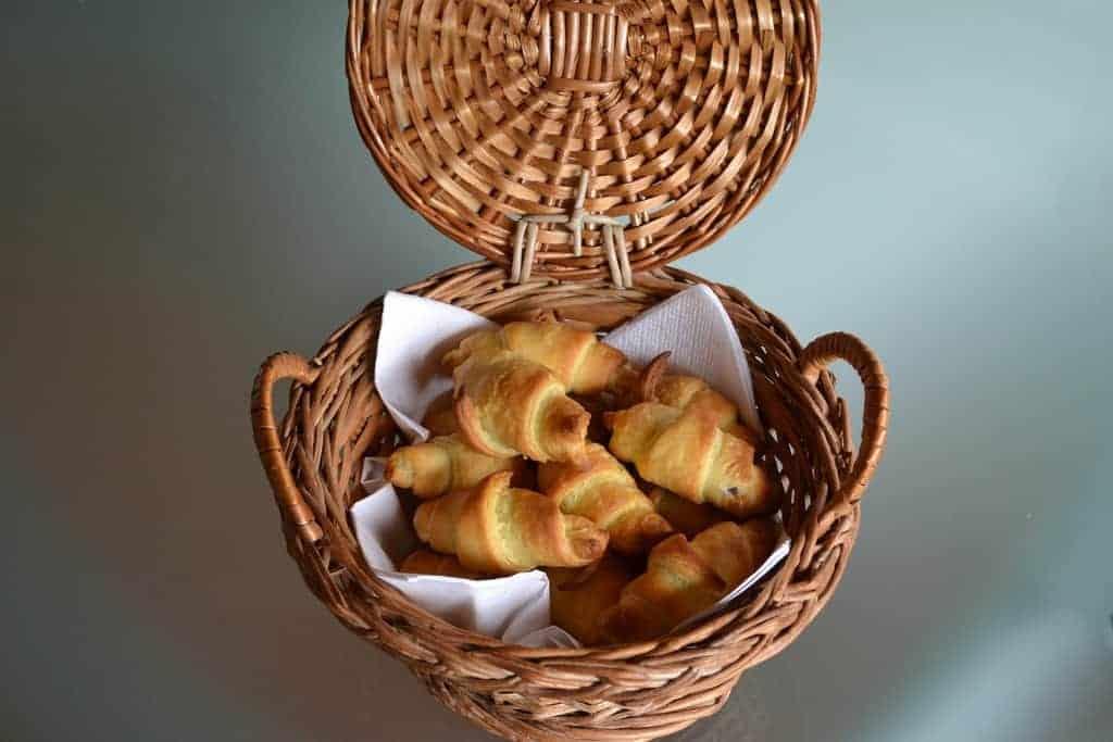 oud-Hollandse hapjes mini croissants