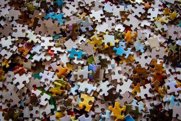 Fit door puzzelen