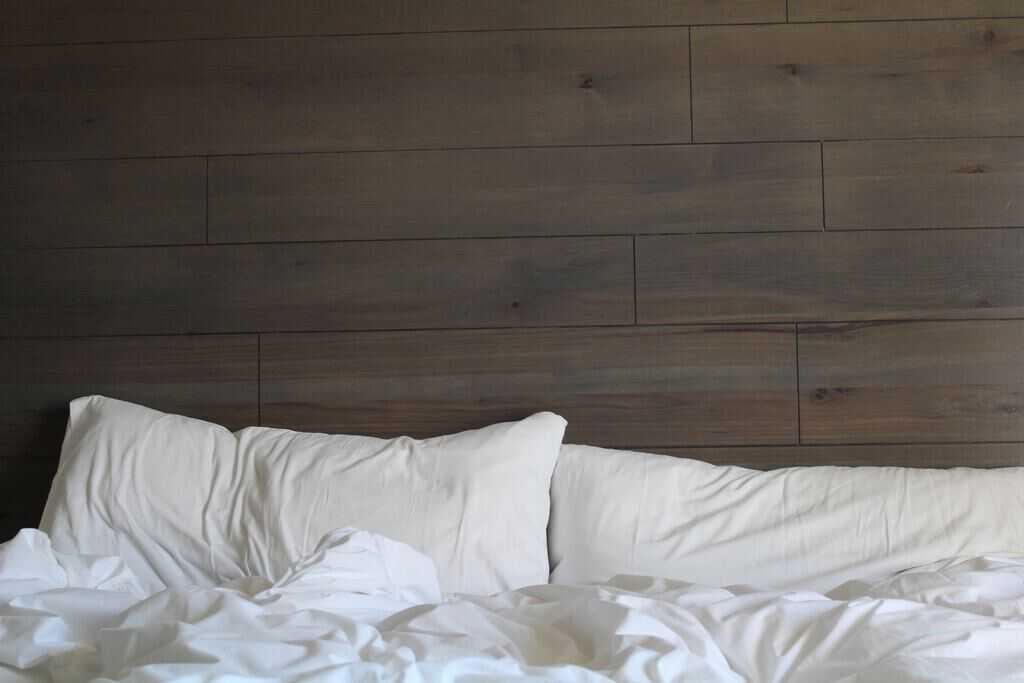 leeg bed penopauze