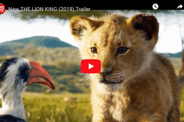 prachtige trailer van the lion king