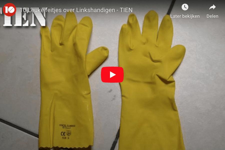 10 grappige feitjes over linkshandigen