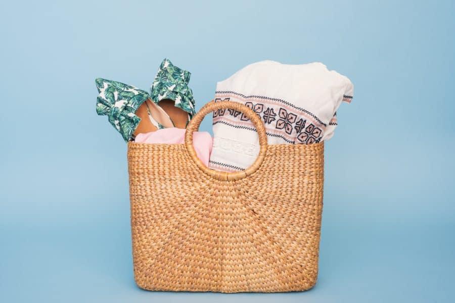 inpaklijst vakantiechecklist tas