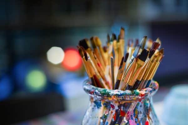 ontspannende hobby's schilderen