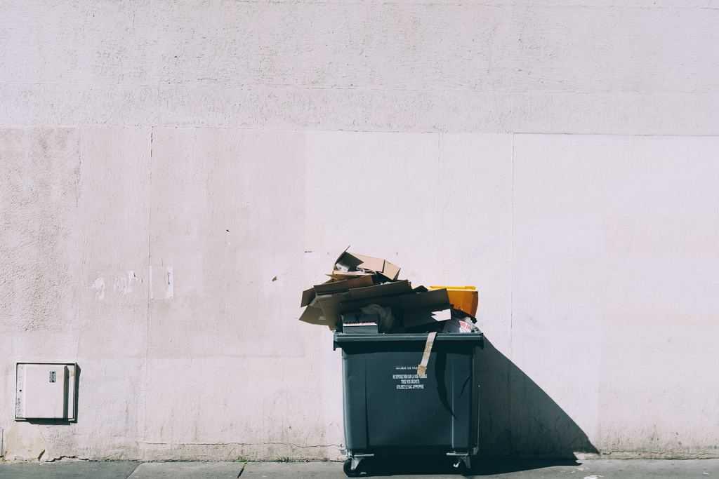 Afval spullen repareren