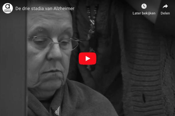 drie stadia van Alzheimer