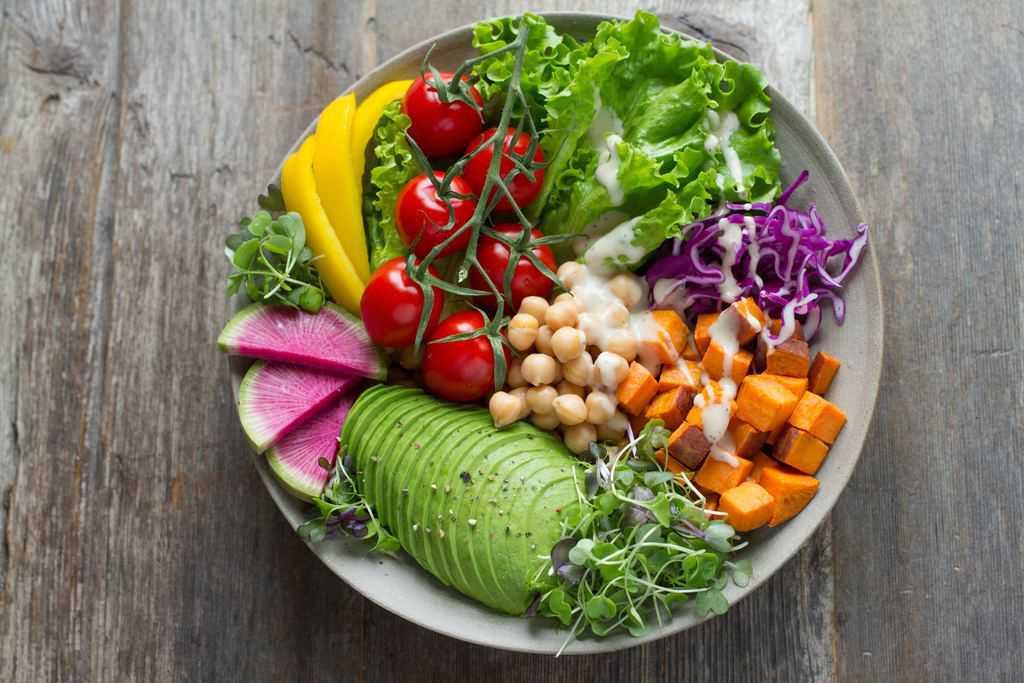 afvallen zonder dieet salade