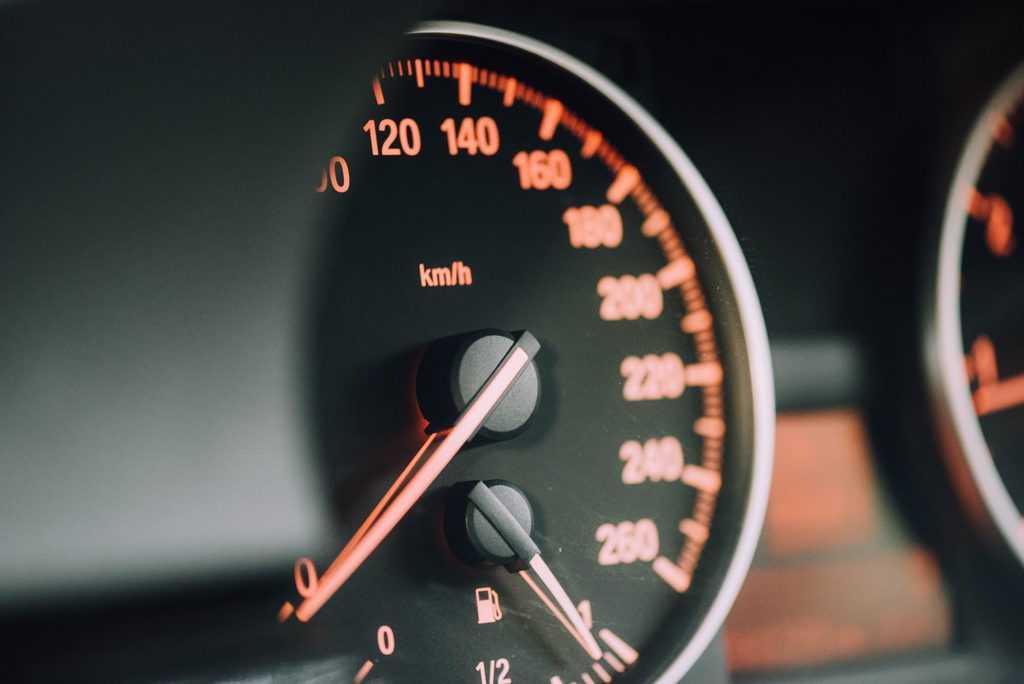 snelheidsverlaging snelweg