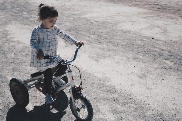 fiets dochter