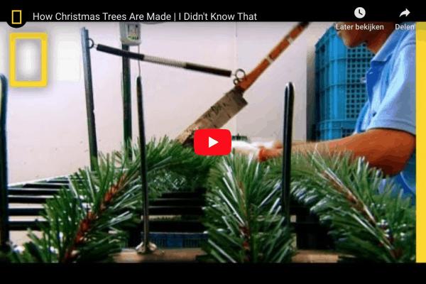 kunstkerstbomen productie