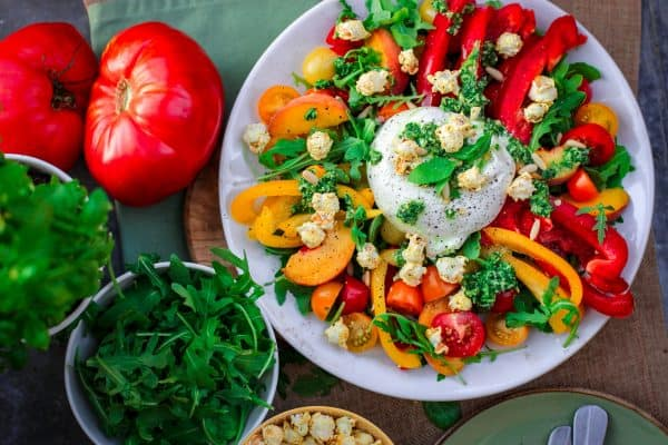 groenten bord