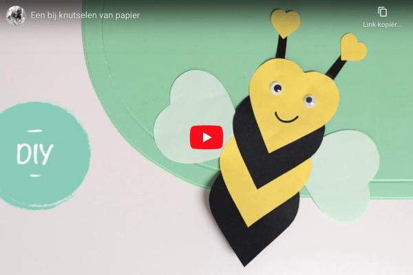 bijen knutselen
