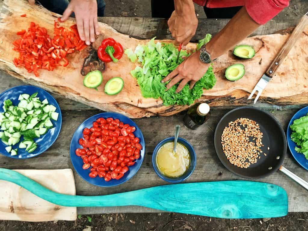 groentebarbecue groenten